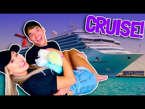WE'RE GOING ON A CRUISE!
