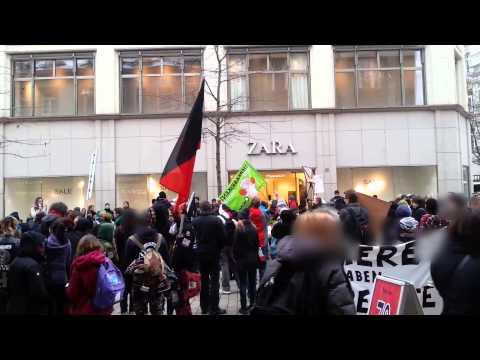 Wiesbaden Pelzfrei-Demo am