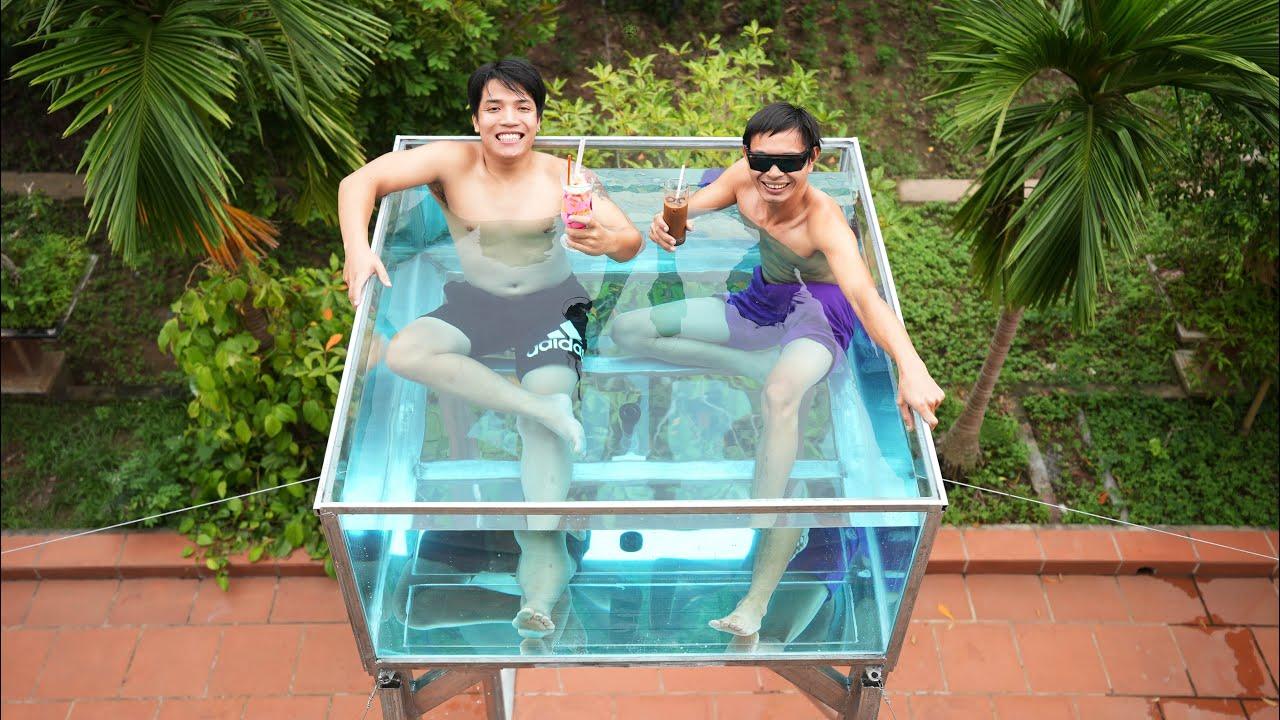 NTN - Chế Tạo Bể Bơi Trên Không (Build Swimming Pool In The Sky)