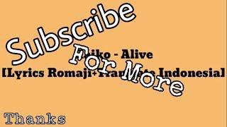 Raiko-Alive [Lyrics Terjemahan]