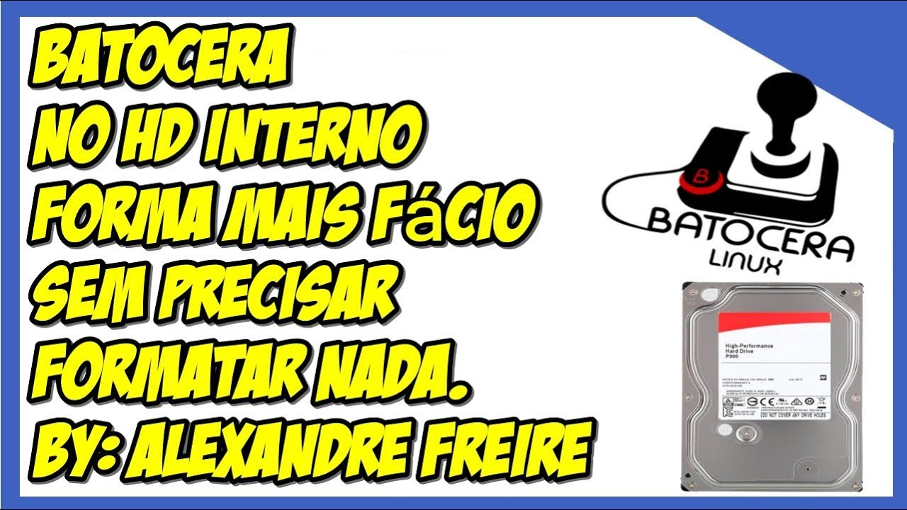 Batocera HD Edition (DUAL-BOOT) by: Alexandre Freire