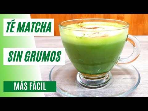 Cómo preparar Té Matcha Fácil Sin Grumos | Té Matcha con Leche #89