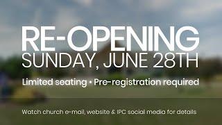 June 14 Message - Chris Little, Senior Pastor