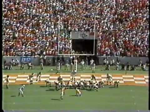 1991 #6 Tennessee 26 Miss. State 24 (Exciting Comeback by Vols)