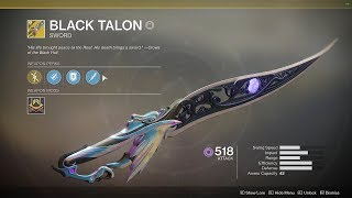 Destiny 2 - Black Talon is a Beast in Gambit (Army of One)
