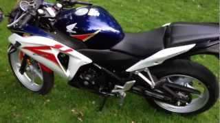Honda CBR 250R 2012 Review Tri-color