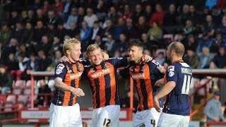 THE GOALS: Exeter City 1-1 Luton Town