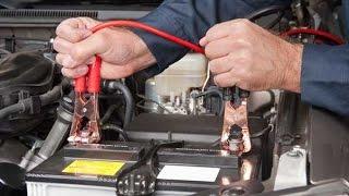 видео Как правильно прикурить аккумулятор от другой машины