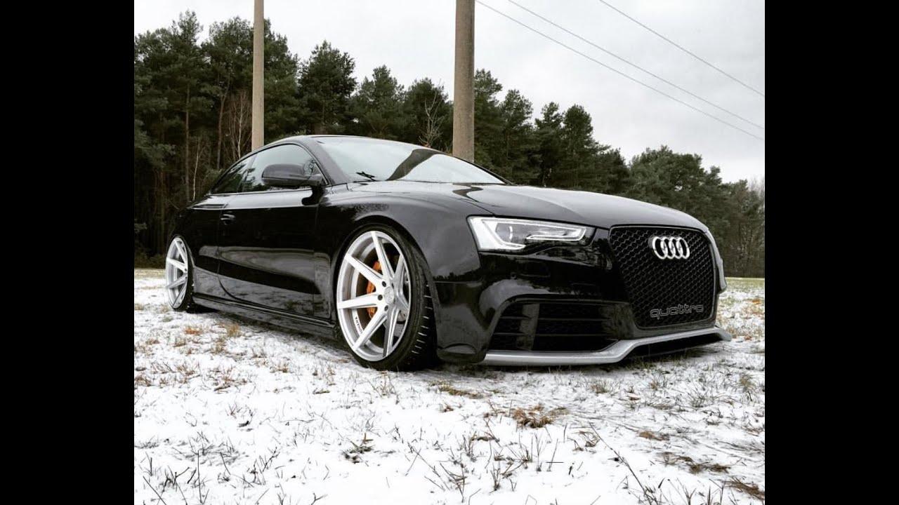 Audi A5 Rs5 Tdi Short Video Rohana Wheels Youtube