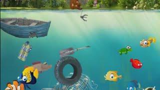 Очень прикольная онлайн игра рыбалка.
