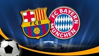 FIFA 07 Gameplay (PS2) - FC Barcelona vs Bayern Munich - Qué Golazo!!