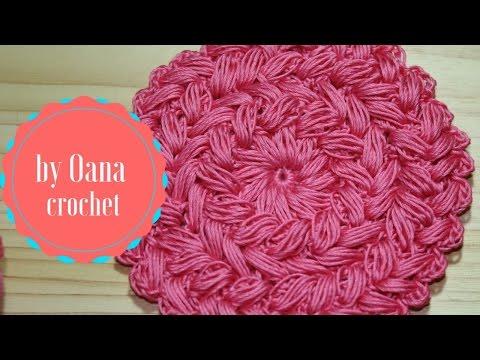 Braided spiral puff stitch-by Oana