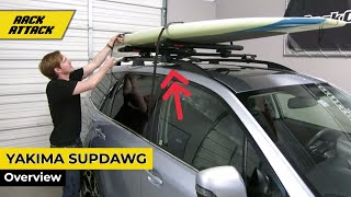 Yakima SUPDawg SUP Carrier Presented by Rack Outfitters