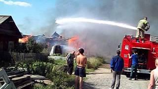 11 августа пожар в Ниженй Туре 5