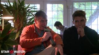 Frank Hall Green and Nolan Gerard Funk interview at 2014 Hamptons International Film Festival