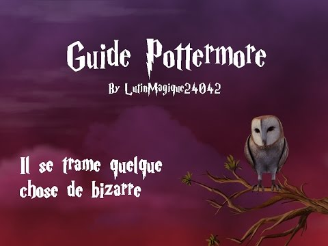 Guide Pottermore // Il se trame quelque...