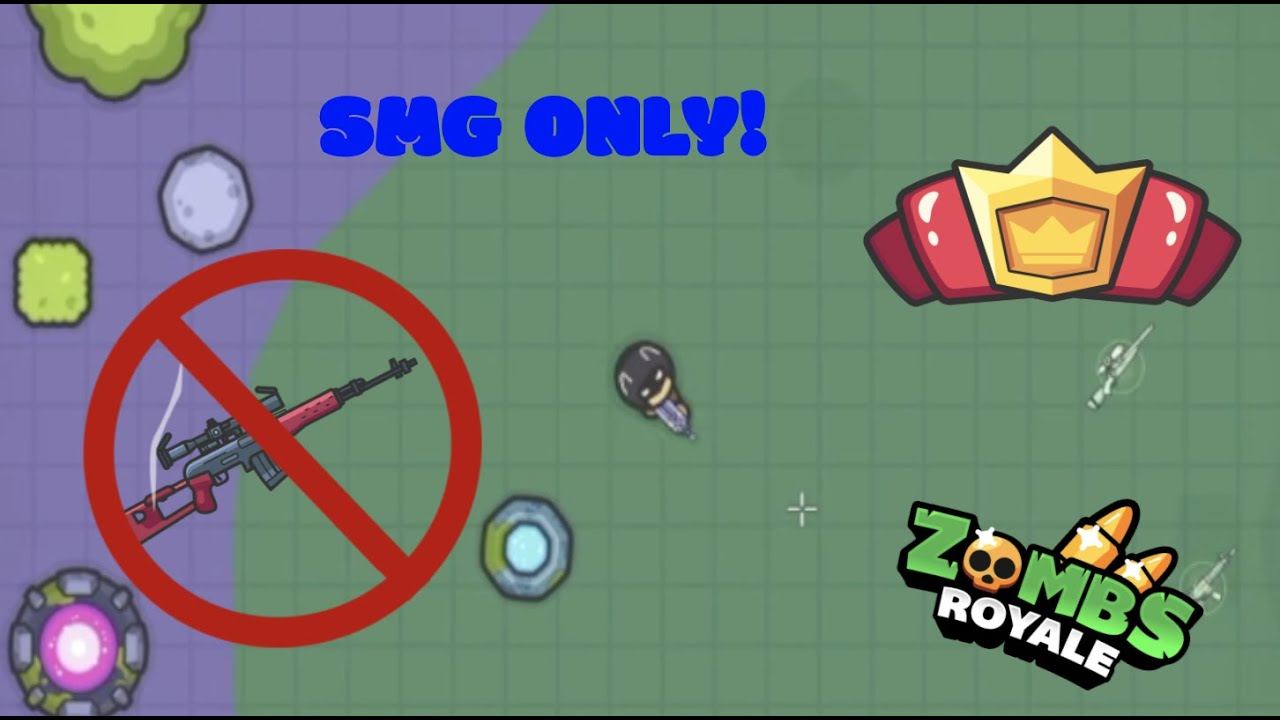 SMG only! - Rogue zombsroyale