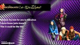 Descendants Cast - Did I Mention (Lyrics)