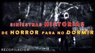 SINIESTRAS HISTORIAS DE HORROR 💀 (Brujas, Nahuales, Monstruos, sombras, etc.)  NO PODRÁS DORMIR