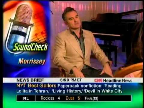 Morrissey Interview (CNN) (2004)