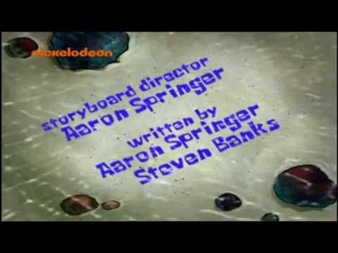 SpongeBob SquarePants: A day without tears - Title Card (Slovenian)