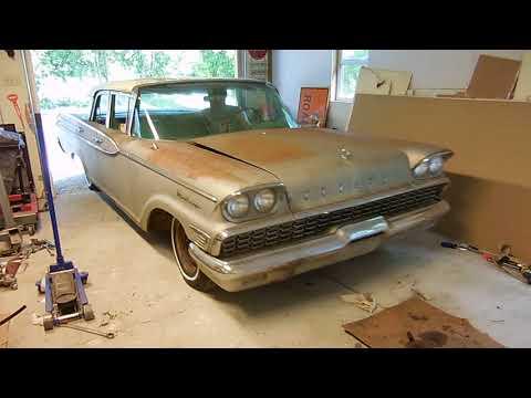 Part 12 Will It Run? 1959 Mercury Monterey Asleep For A Decade