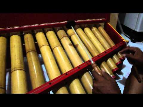 how to make bamboo instruments