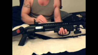 Mossberg 88 Upgrades with Warhammer Rail!