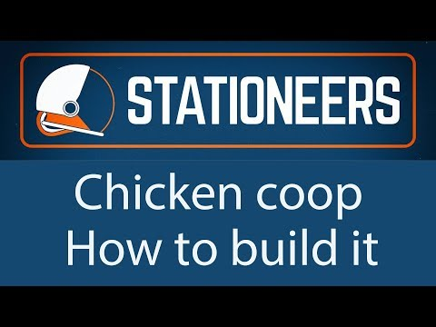 Stationeers - Chicken coop - How to build it