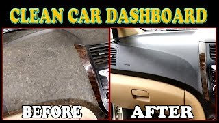 DASHBOARD CLEAN !! How to Clean Dashboard and Gate in easy way