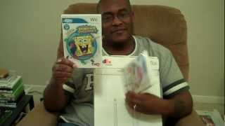 PlayStation MOVE Holiday gift bag, uDraw Wii tablet UNBOXING with M4d Ski11z
