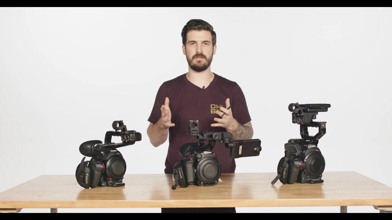 WATCH: Comparing the Canon C100 (mk II), C200 and C300 (mk II)
