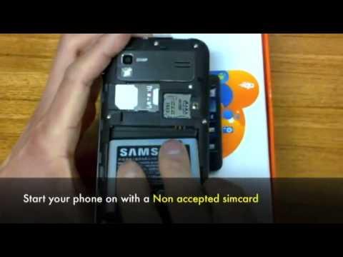 Unlock Samsung B5722