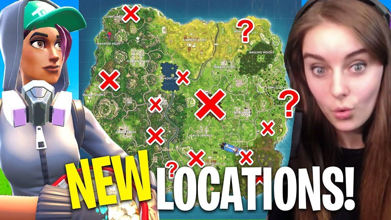 Fortnite NEW Map Changes (Season 4) - YouTube