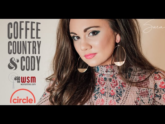 Sara interviews on |Coffee, Country, & Cody| WSM Radio & Circle TV