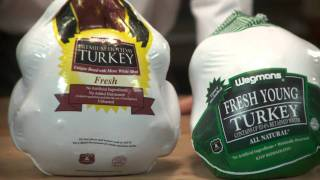 Choosing Your Holiday Turkey at Wegmans