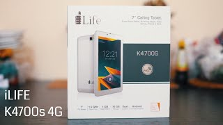 iLife K4700S 4G Dual Sim Tablet - REVIEW + UNBOXING