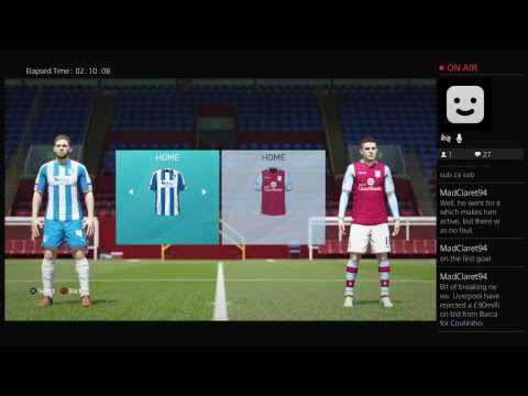 The Match Live - EFL Cup 1st Round  Colchester  v Aston Villa  full audio commentary.