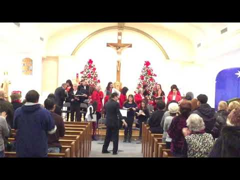 3rd Annual Carol Sing, OLMC Nutley NJ - Hark the Herald Angels Sing / Joy to the World