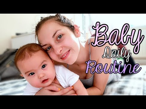 DAILY BABY ROUTINE | 7 months old | Feeding, Nap Time, Playtime
