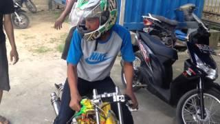 Imr medan seting motor drag bike 130 tune up bay ambali