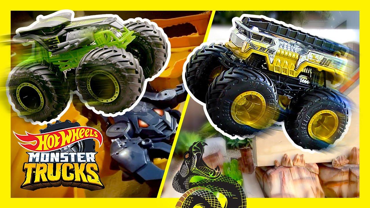 SNAKES, & SCORPIONS: ULTIMATE MONSTER TRUCKS TOURNAMENT!   Monster Trucks   @Hot Wheels
