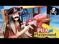 Funny skit with Pua and Moana ! Outdoor and Indoor Playground