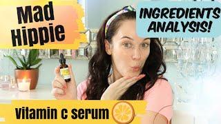 MAD HIPPIE Vitamin C Serum 💎💎First Impression + Ingredients Breakdown!