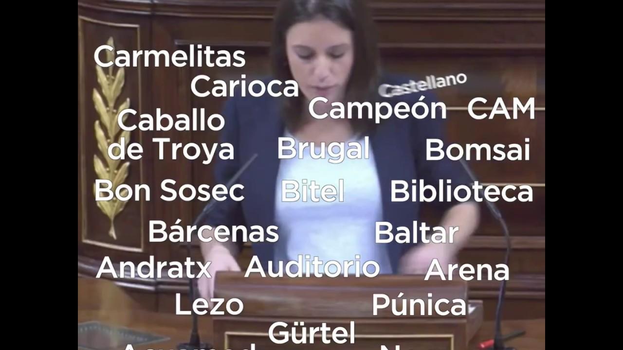 Irene montero enumera los diferentes casos de corrupci n del partido popular youtube - Casos de corrupcion de podemos ...