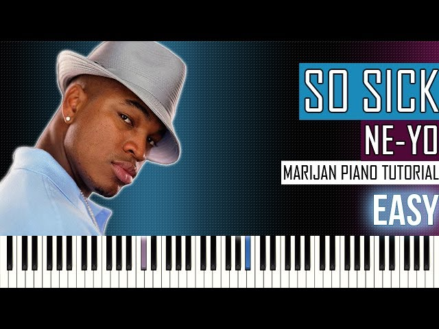 How To Play Ne Yo So Sick Piano Tutorial Easy Chords Chordify
