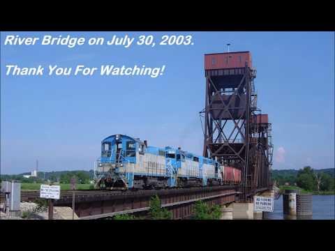 One Bridge, Six Railroads - TZPR Bridge at Peoria IL