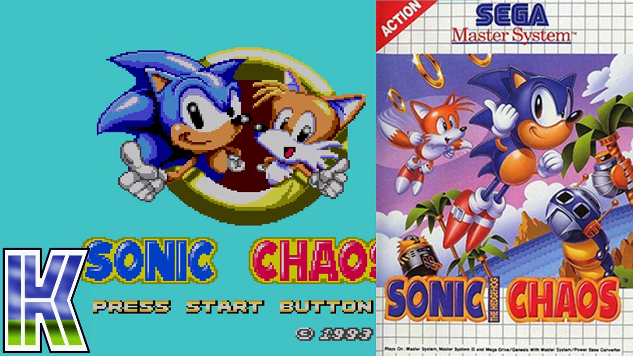 Sonic Chaos Master System And Game Gear Rom Youtube