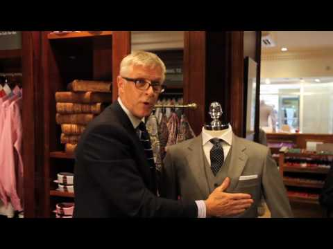 T.M.Lewin | How to Fold a Pocket Handkerchief  Part 1 - The Pocket Square