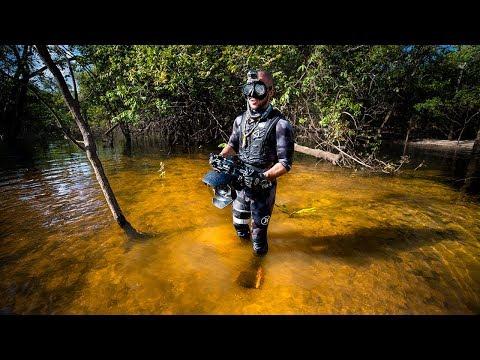 Finding River Treasure in the AMAZON Jungle!!! (DANGEROUS)   Jiggin' With Jordan